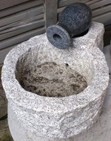Granite Fountain with Vase **SALE** in Ramstein, Germany