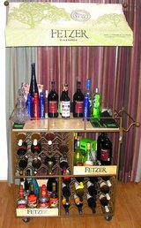 Wine Cart, Wine Table, Liquor Bar in Nellis AFB, Nevada