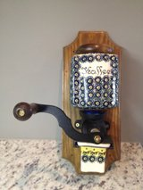 Polish Pottery Coffee Grinder in Fort Campbell, Kentucky