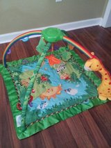 Fisher Price Jungle Playmat in Moody AFB, Georgia
