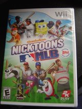 NEW Wii Nicktoons MLB game in Fort Riley, Kansas
