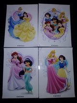 NEW 4 Disney Princess Sticker Decals in Camp Lejeune, North Carolina