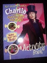 NEW Charlie and the Chocolate Factory Activity book in Camp Lejeune, North Carolina