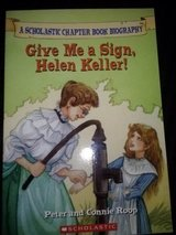 Give Me A Sign, Helen Keller! softcover book in Camp Lejeune, North Carolina