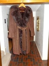 fully fur innerlined/fur collar womens coat  in Tomball, Texas