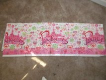Plastic Princess tablecloth in Fort Benning, Georgia